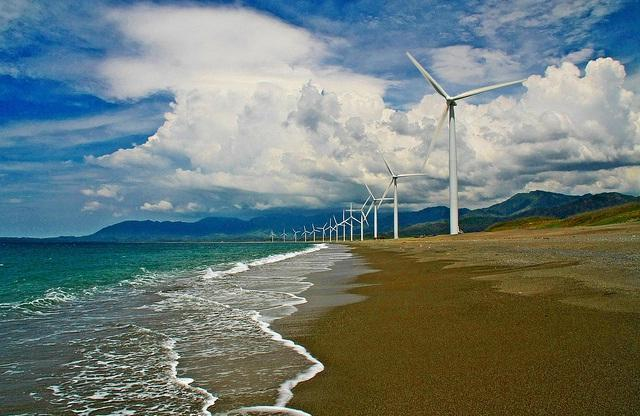 Just Go with the Wind at Bangui Windmills