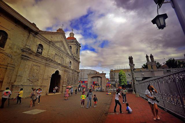 The Basilica of Santo Niño