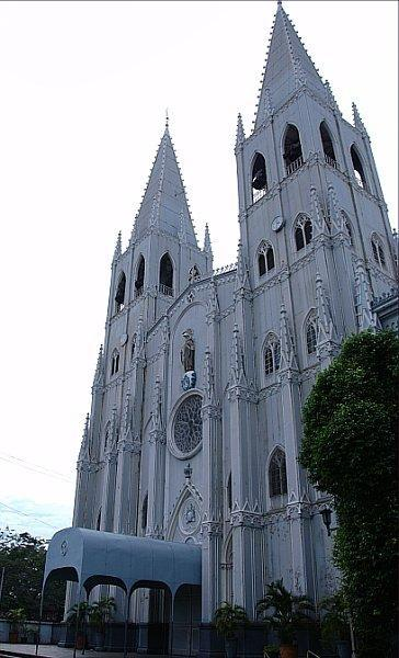 Basilica of San Sebastian in Manila