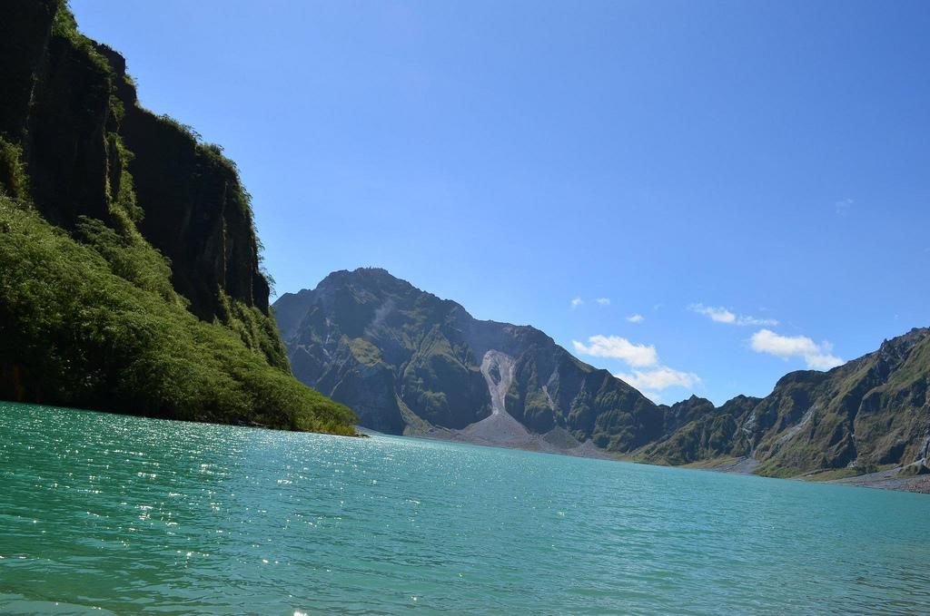 The Crater of Mount Pinatubo