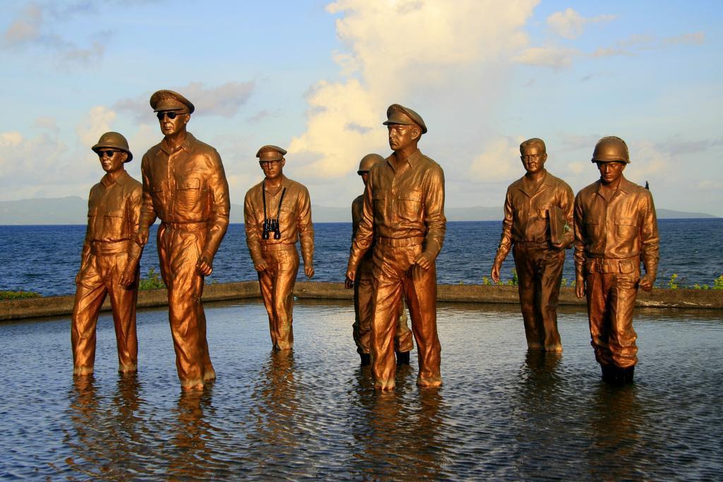 General Douglas MacArthur Landing Area