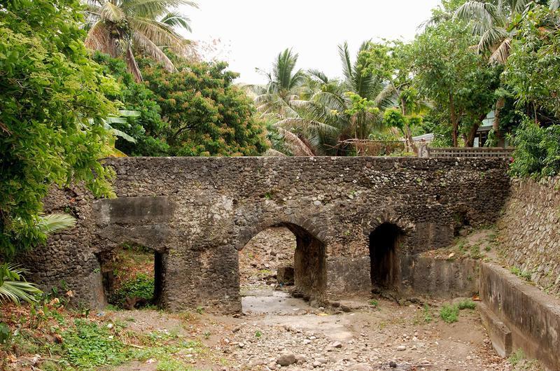 Spanish Tuhel Bridge in Batanes