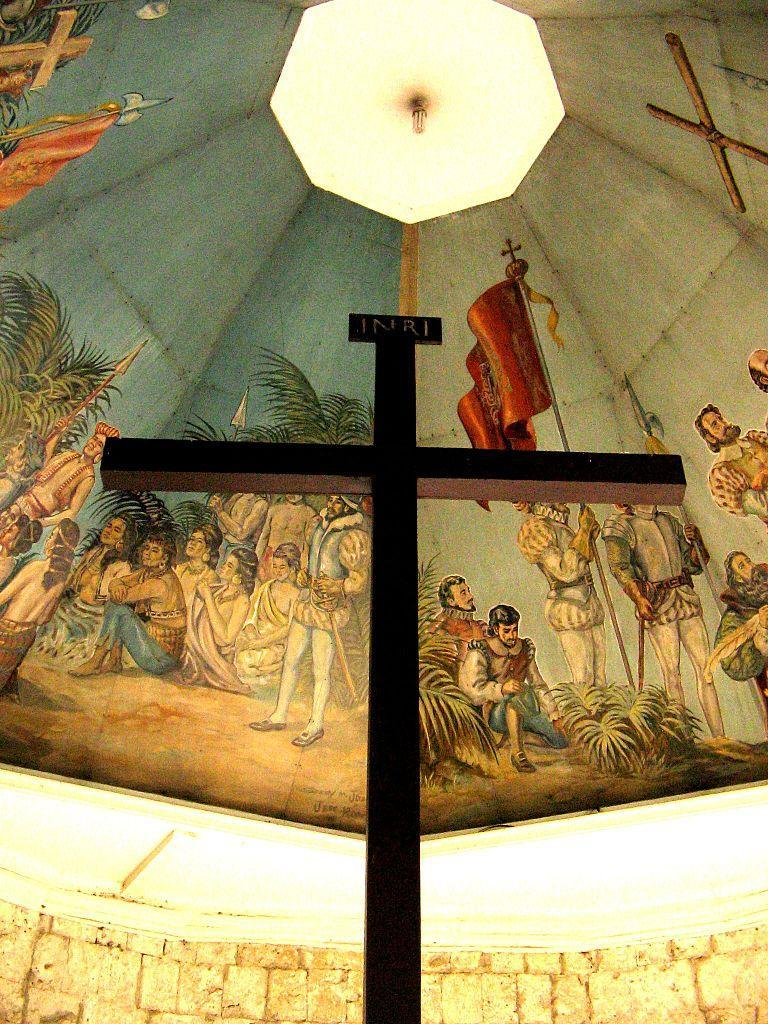 Magellans Cross A Tangible Symbol Of The Catholic Faith In The