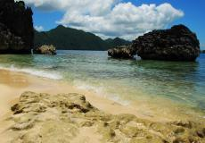 The Island of Lahos in Caramoan