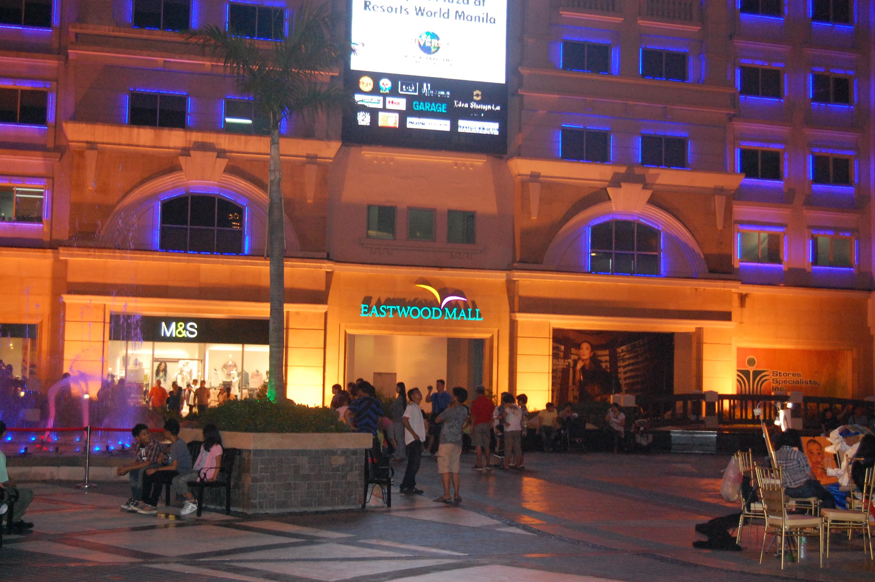 eastwood city  live the life of excitement and luxury