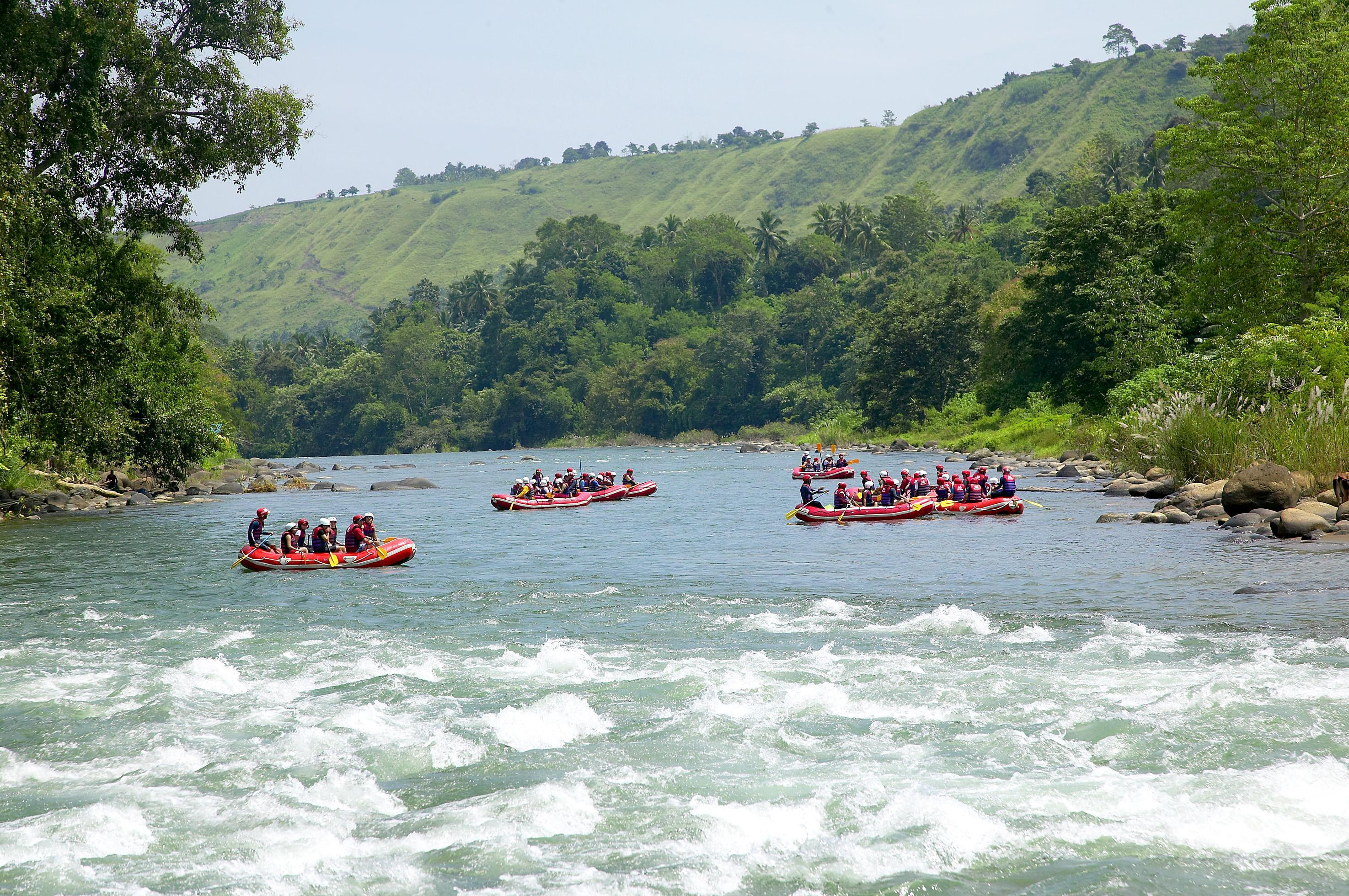 Whitewater Rafting In Cagayan De Oro Nature At Its Wildest