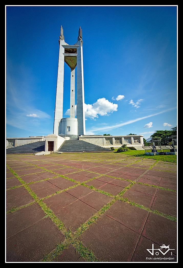 how to go to quezon memorial circle